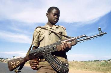 UGANDA-CHILD SOLDIER