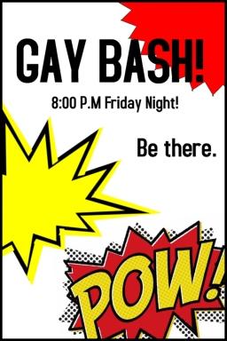Gay Bash Poster