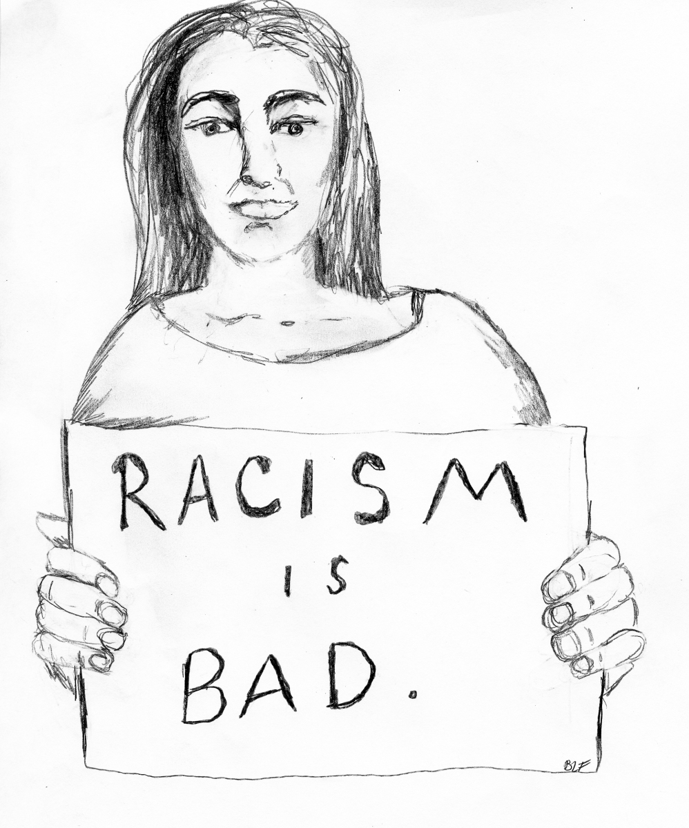 Radical Student Activist Thinks Racism Wrong