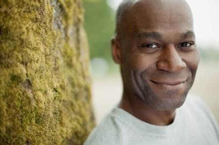 Portrait of mature black American man.