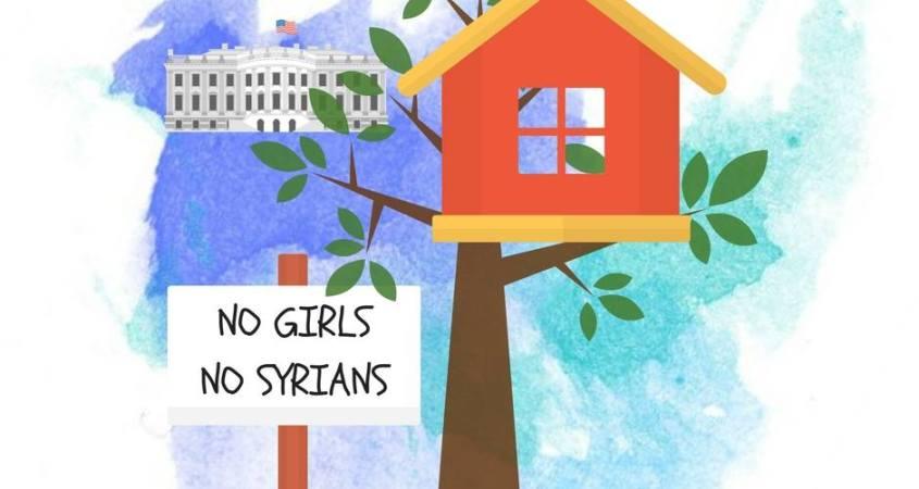 Marvelous Barron Trump Builds Tree House No Girls Syrians Allowed Beutiful Home Inspiration Xortanetmahrainfo