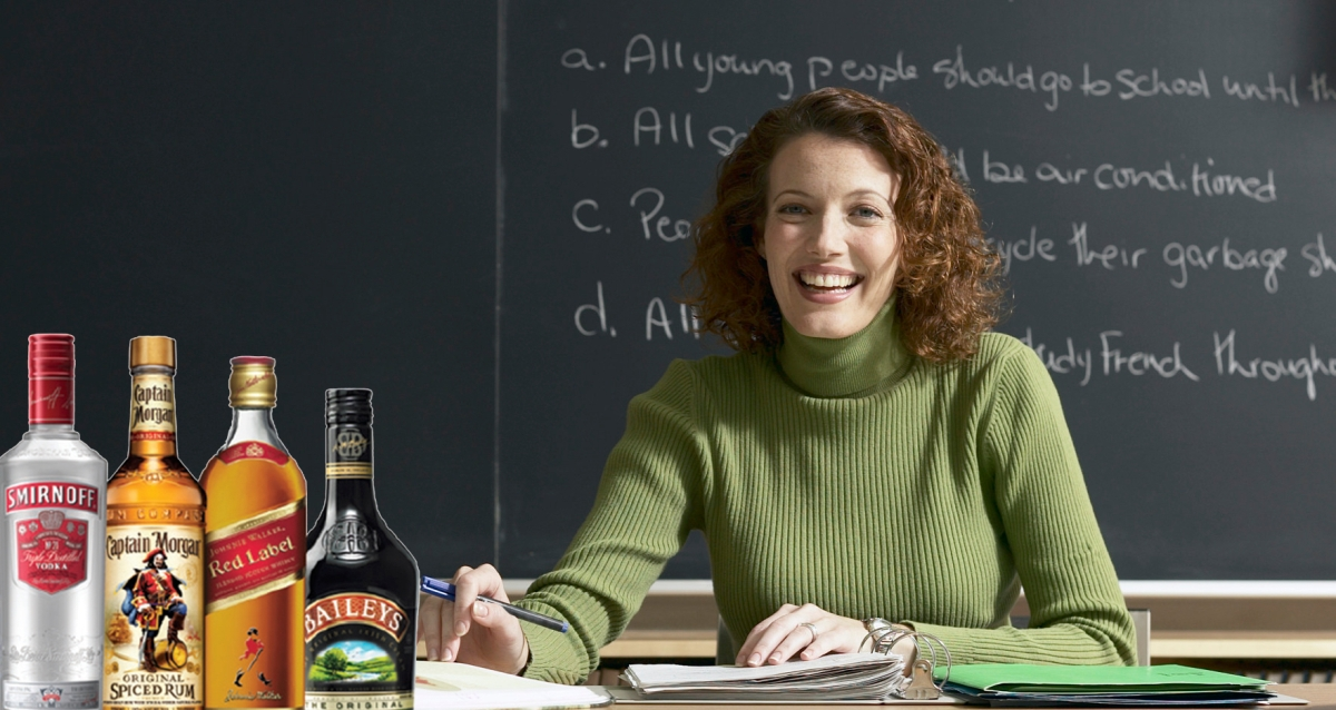 Professor Always Drunk for Class Finally Has Excuse During Ivies