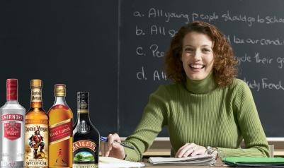 Professor always drunk for class