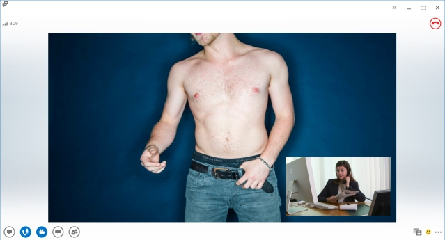 Skype Background